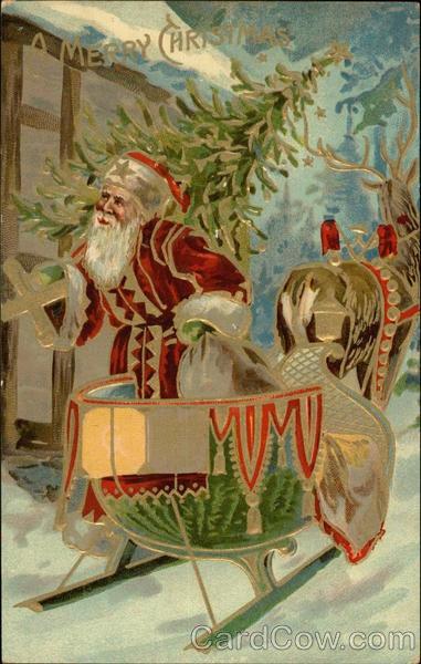 Christmas Vintage Art