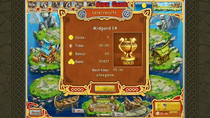 Farm Frenzy Viking Heroes Adventure Midgard 14 GOLD Веселая ферма Викинги Сюжетная Мидгард 14 Золото