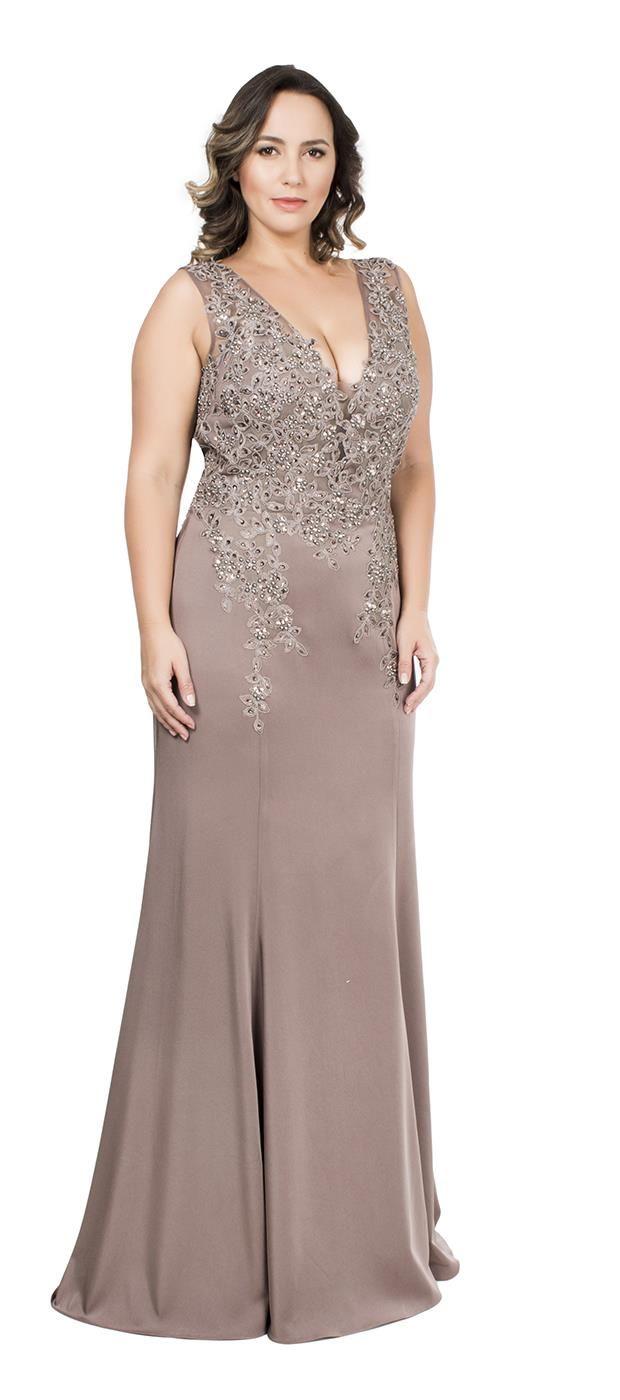 Comprar Vestido Sereia com Bordado Esmê - Dolps