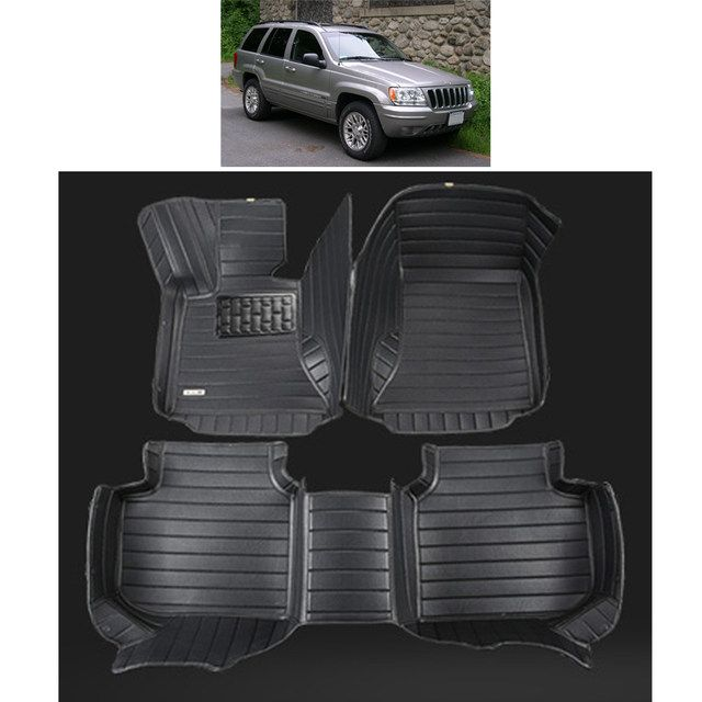 Lsrtw2017 Leather Car Floor Mats For Jeep Grand Cherokee Wj 1999