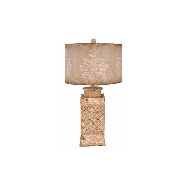 Captivating Vintage Cottage Chic Table Lamp (1.475 BRL) ❤ Liked On Polyvore Featuring  Home,