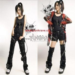 Pantalon punk-goth 2010
