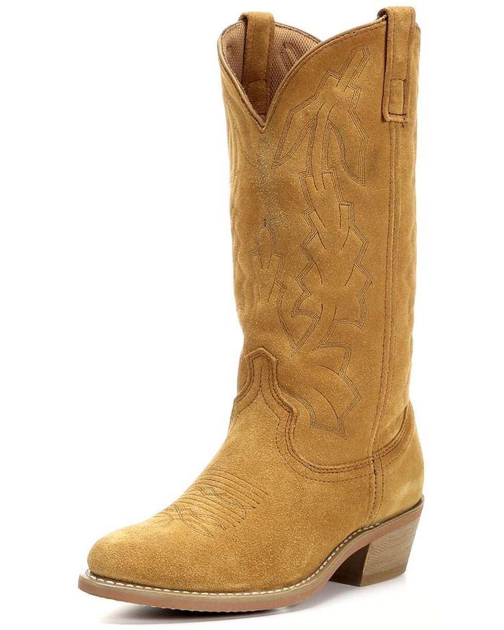 Men's Round Toe Cowboy Boots
