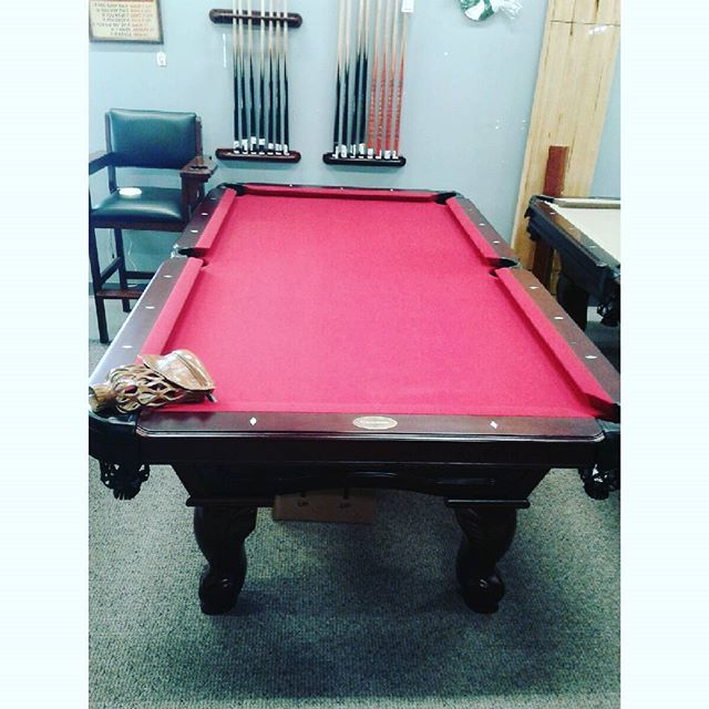 Pool table special, come on in and take a look! #mancave #gameroom #bar #pooltablefun #pooltable #billards #poolsticks #waterford #sunnyspoolsandmore