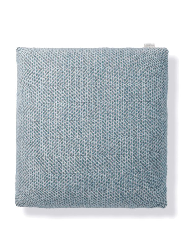 Soft Wool Cushion - Vintage Blue