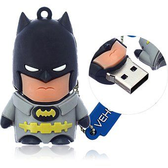 Memoria USB 2.0 8gb 16gb 32gb 64gb Batman Pen Drive