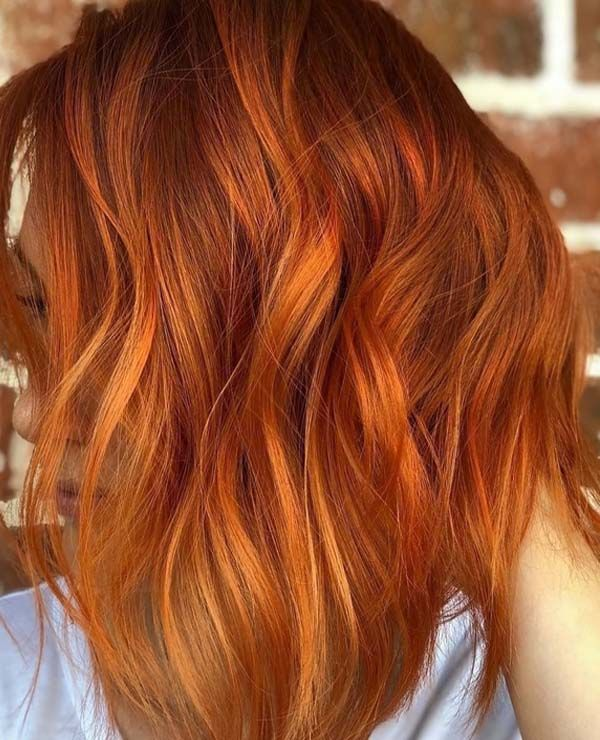 38 Hottest Fiery Copper Red Hair Color Ideas For 2018 Bold Hair