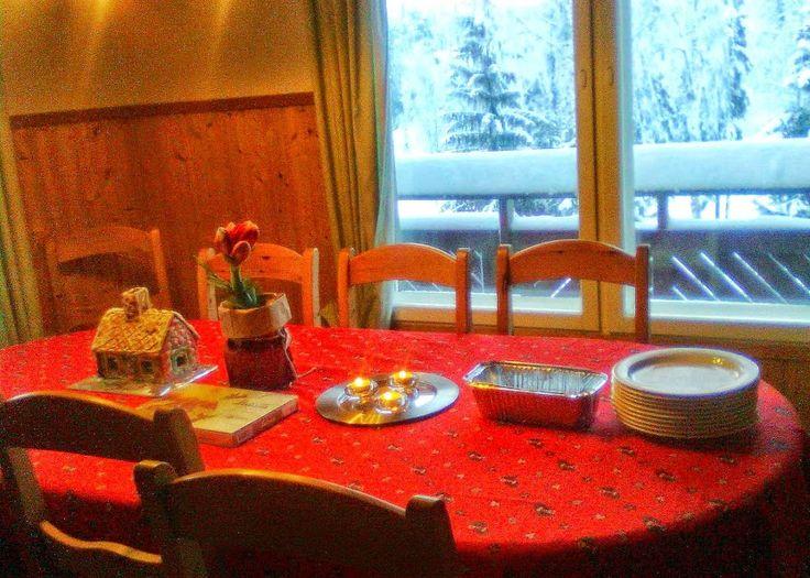 Christmas Eve Table at Tahko