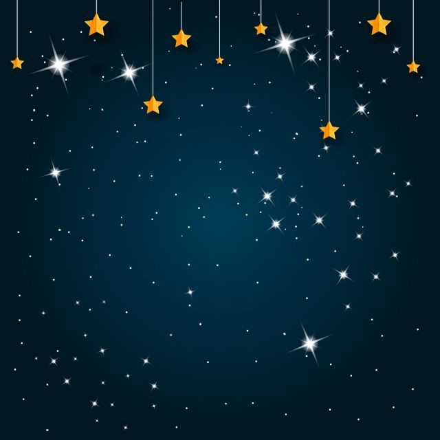Night Background With Shiny Star Background Abstract Star Png