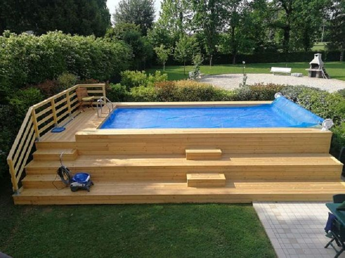 Pool Pump Diy Swimming Pool Swimming Pools Backyard Swimming Pool Decks