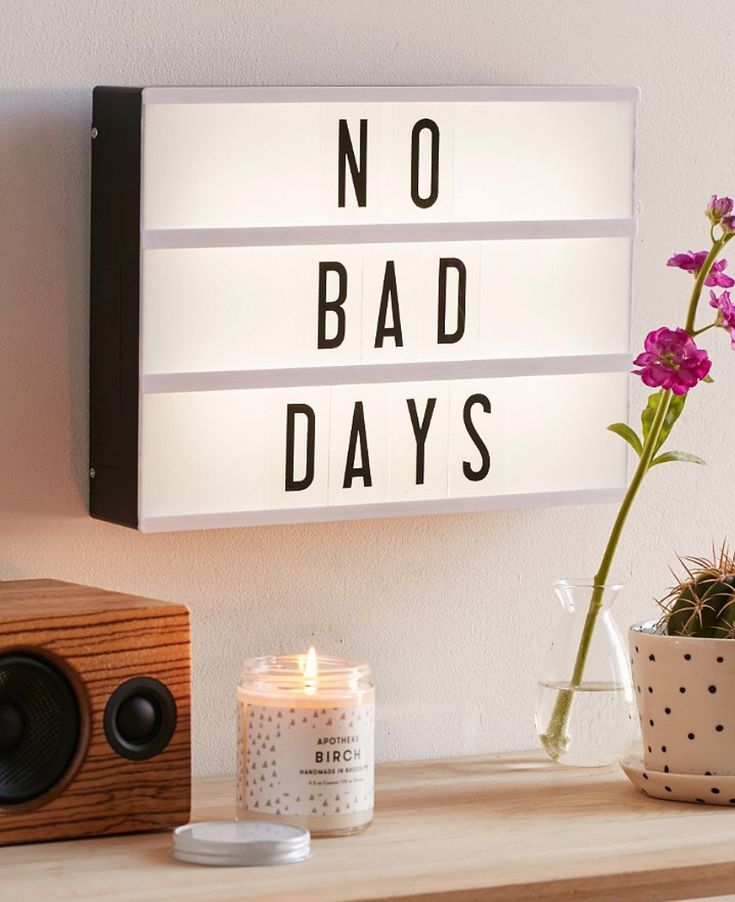 Led Light Message Board To Spice Up Your Bedroom !