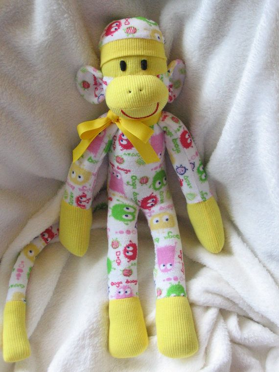 sock monkey instructions printable