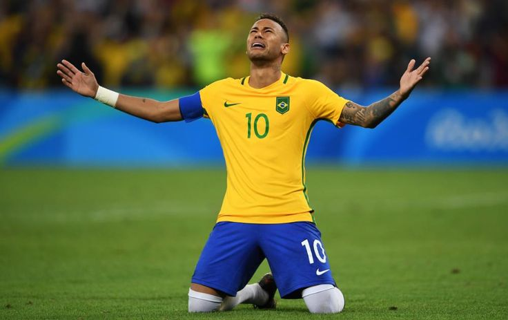 Neymar fires Brazil to first Olympic Games football gold medal in penalty shoot-out victory against Germany(2016)