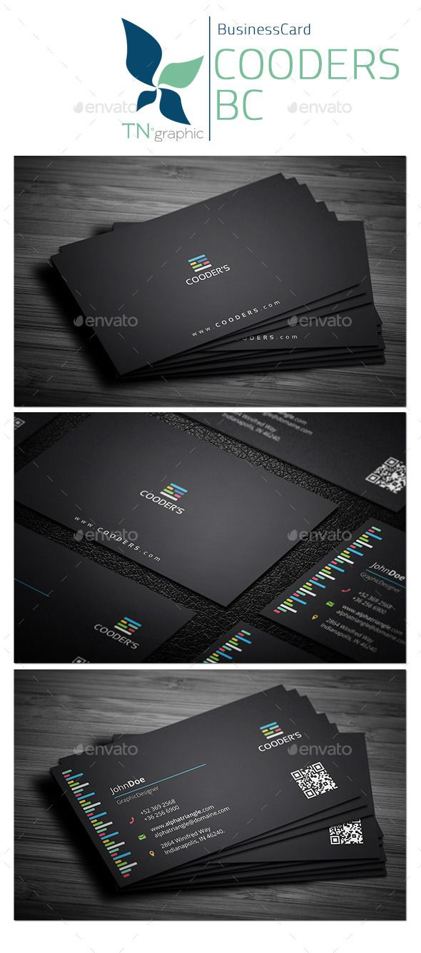73 best business cards images on pinterest carte de visite name buy cooders business card by exoticthemes on graphicriver reheart Choice Image