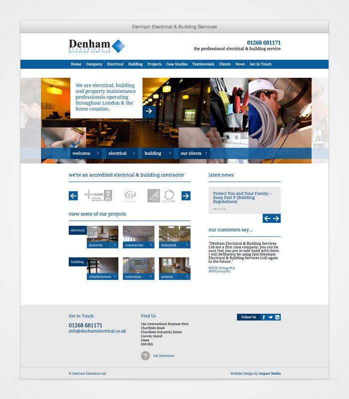 Denham WordPress Website