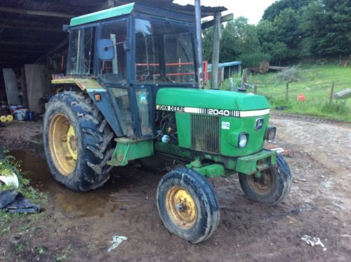 John #deere 2040 tractor 2wd #11895 #hours,  View more on the LINK: 	http://www.zeppy.io/product/gb/2/172253772147/