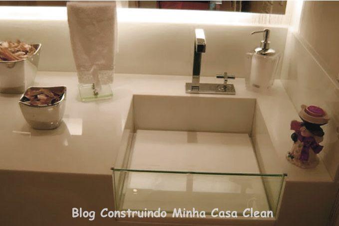 Construindo Minha Casa Clean: A Beleza das Bancadas de Porcelanato!