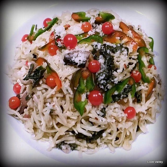 cookvalley - tanker om mad: Pasta med palmekål, svampe, kylling og Gammelknas http://cookvalley.blogspot.dk/2016/10/pasta-med-palmekal-svampe-kylling-og.html