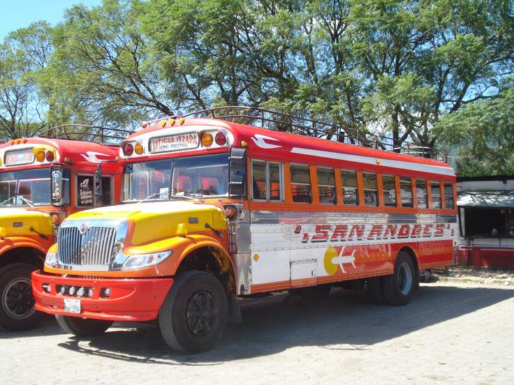 I mezzi di trasporto in Guatemala