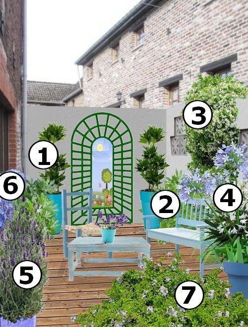 plus de 1000 id es propos de cour et jardin sur pinterest tuin jardinage en pots et h tel. Black Bedroom Furniture Sets. Home Design Ideas