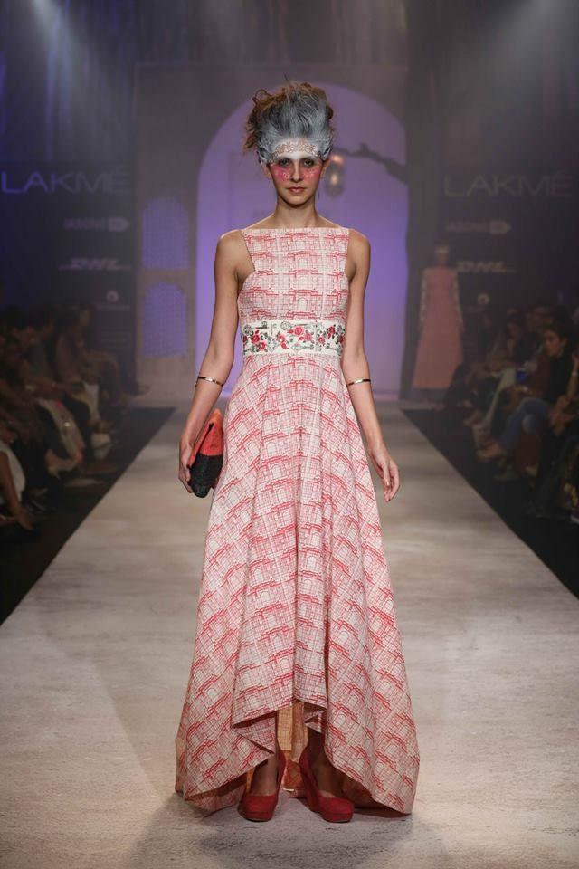 Anju Modi - Lakme Fashion Week Summer/Resort 2014.  #LakmeFashionWeek #JabongLFW