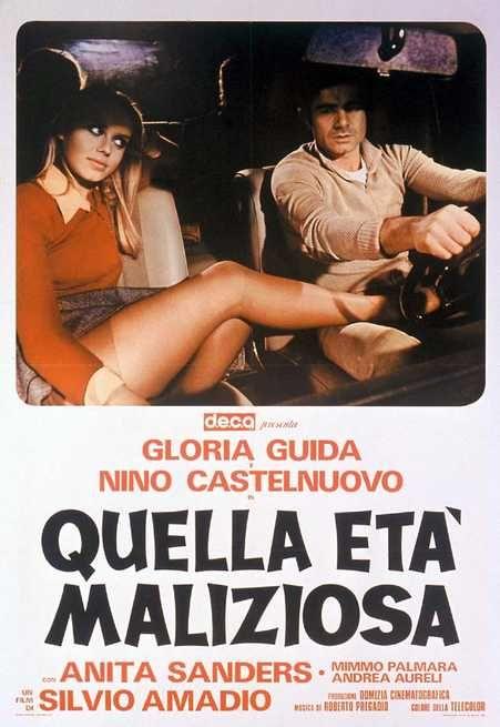 Quella età maliziosa , 1975 , di Silvio Amadio , with Gloria Guida , Nino Castelnuovo