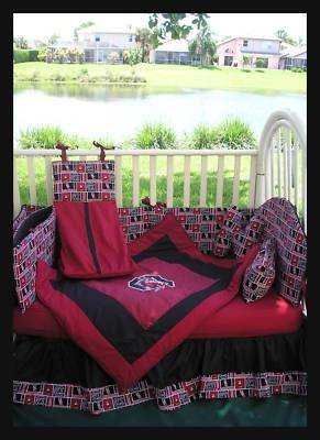 Usc Gamecock Crib Bedding