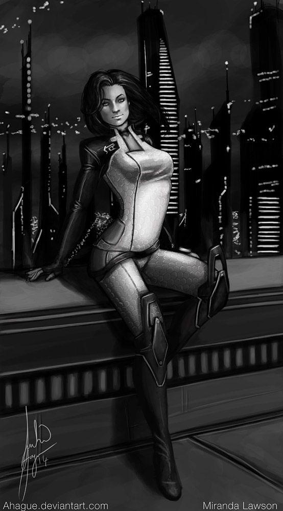 Miranda Lawson Light Armor by AHague.deviantart.com on @deviantART