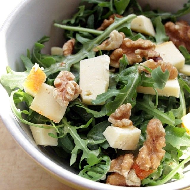 """""""Today's """"Is It Spring Yet?"""" salad. #CDNCheese #SimplePleasures"""" - David Ort"""