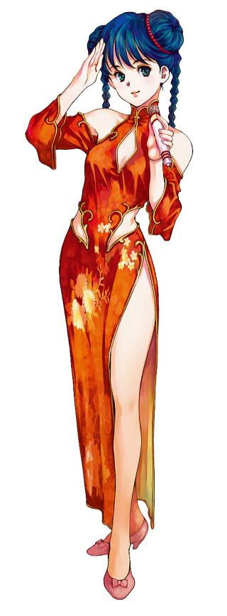 Macross, Lynn Minmay, by Haruhiko Mikimoto