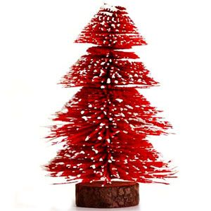 Beautiful table top Christmas tree with wooden base http://www.tajonline.com/christmas-gifts/product/x1088/table-top-christmas-tree/?aff=pint2013/