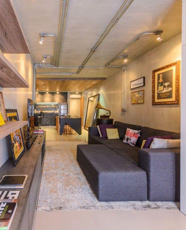 Apartamento Do Casal Nicholas Alencar E Fernanda Rabello, Do Studio  Alencar, Na Cidade Catarinense