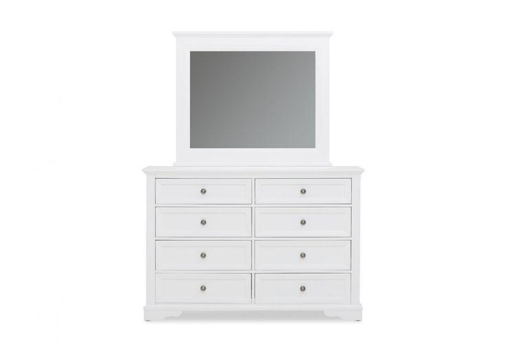 Quebec Dresser with Mirror | Super Amart