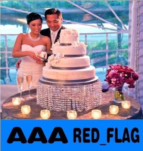 Dia1640cm * H820cm Round Crystal Wedding Cake Stand, Dhl/Fedex/Ems Free Ship, Wedding Centerpiece,Cupcake Stand Llfa695 Shabby Chic Wedding Decor Shabby Chic Wedding Decorations From Red_flag, $98.35| Dhgate.Com