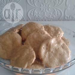 Foto da receita: Cookies de pasta de amendoim - sem glúten