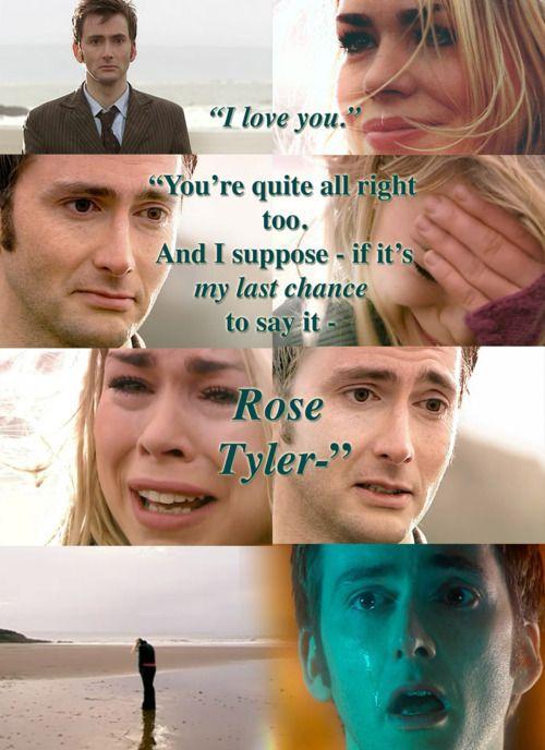Death of Rose Dr Who - I am crushed Allen! Saddest moment of television, heartbroken!