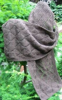 Knitted Net Yak Scarf – All about knitting …