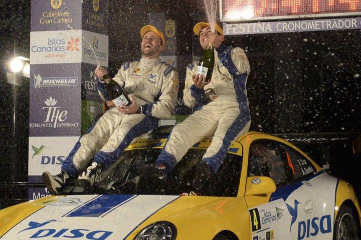 Entrega de premios del Rally Islas Canarias