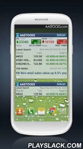 Market+ Mobile  Android App - playslack.com ,  AASTOCKS is the most authoritative financial information and analysis solutions provider in Hong Kong and has been well recognized by investors. According to comScore statistics 2012, AASTOCKS always has the highest impression count among all Hong Kong's financial websites.Quote Services- Free Real-time HK Stock Quote- Real-time Streaming Teletext, Streaming Dual Quote Interface, Bid/Ask Queue & Brokers Queue- Real-time Technical Anaylsis…