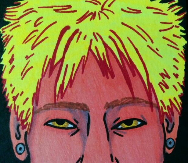 ROYGBIV Series: Yellow. Sharpie. Nicole Horel.