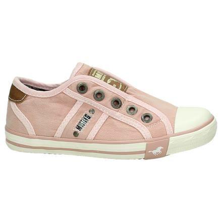 Roze Mustang Slip-on Sneaker