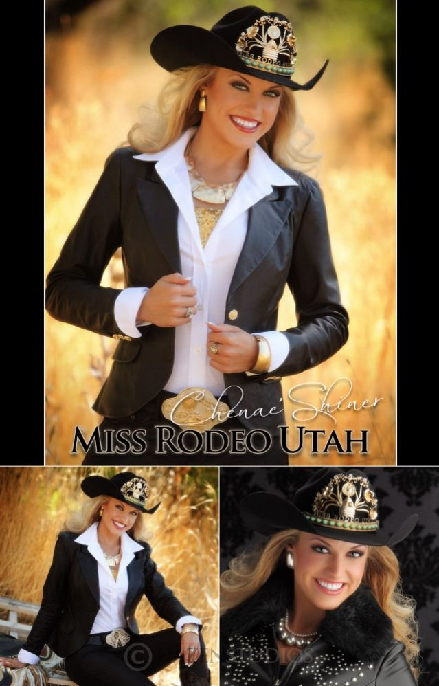❦ 2013 Miss Rodeo America, Chenae Shiner, Miss Rodeo Utah 2012.