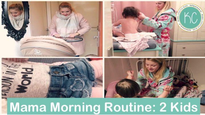 OCHTENDROUTINE MAMA twee kinderen: Mijn Morning routine als moeder van 2 kids in video! De ochtendspits vanaf het opstaan, aankleden, ontbijt en naar school gaan. Kijk je mee?