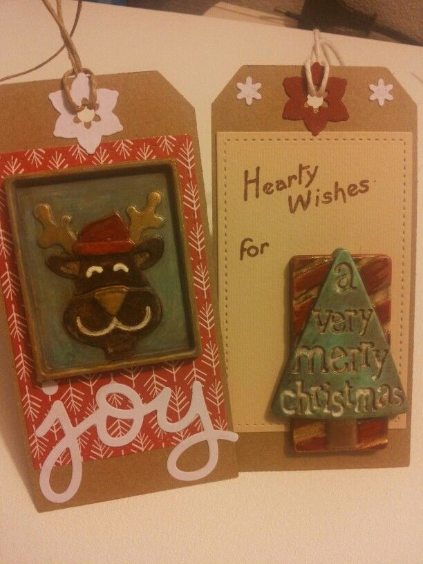 Christmas 2014, tags, by ricciocraft.