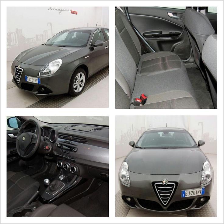 Alfa Romeo Giulietta, color Grigio antracite, a 15.100 €! #AlfaRomeo #Giulietta #Mirafiorioutlet #lanostravetrina #usato