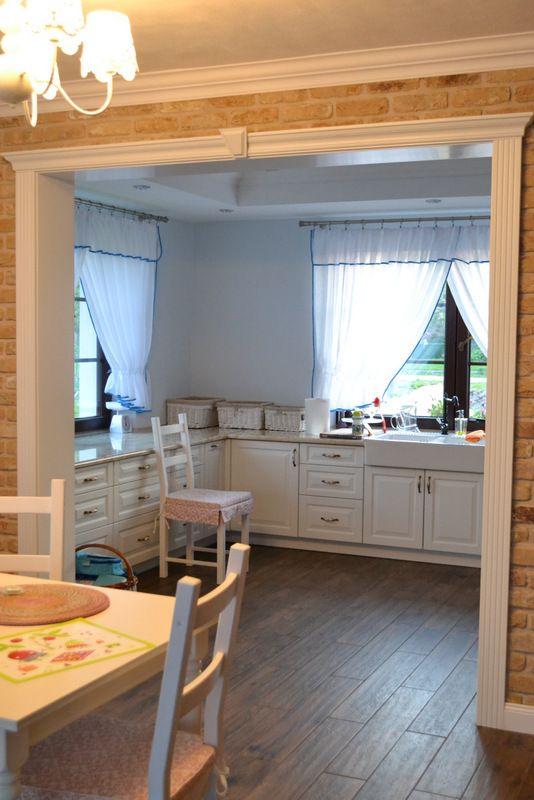 Projekt domu w stylu angielskim w Bliżycach.
