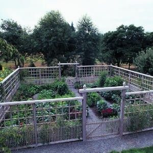 I Need A Fence Like This To Keep My Dog Out Of My Garden!