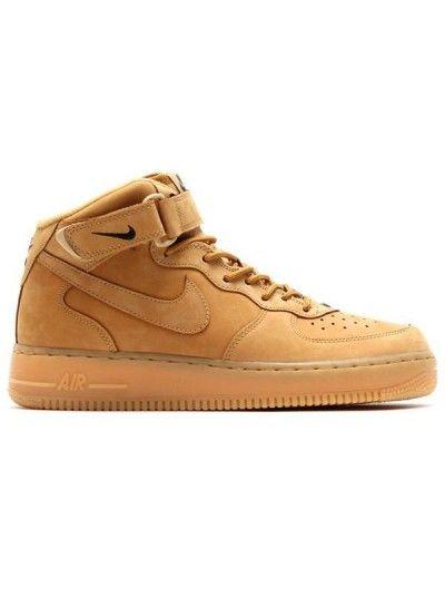 Nike Air Force 1 Mid 07 Prm Qs Flax Marrom