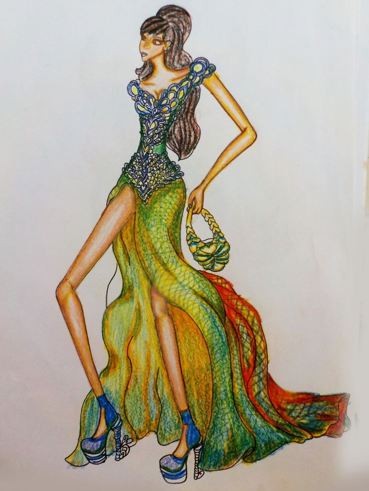 #fashion #fashion sketch #fashion illustration #fashion design  #fashion sketches