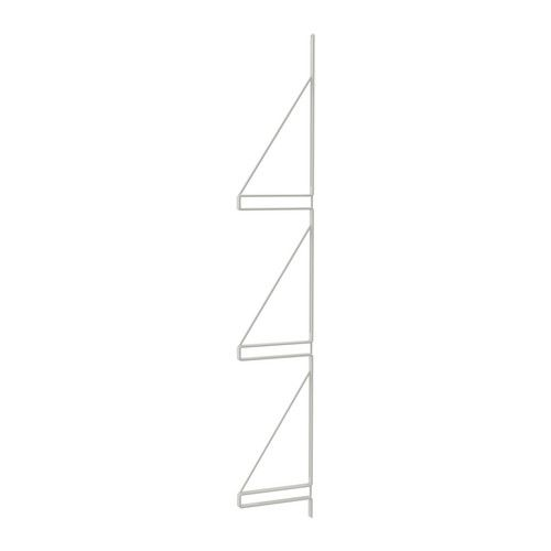 EKBY GÄLLÖ Wall side unit IKEA Can hold 3 shelves so you can create more wall storage without drilling more holes in the wall.